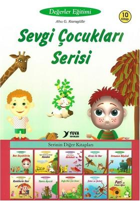 Yuva Sevgi Çocukları Değerler Eğitimi Serisi 10 Kitap Set