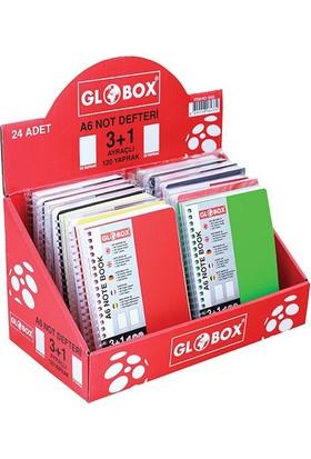 Globox A6 Ayraçlı Defter 3+1 120Yp