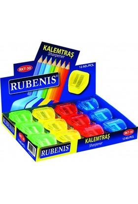Rubenis Çift Bıçaklı (Kısa-Uzun) Kalemtraş RKT-30