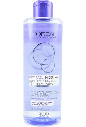 Loreal Paris Dermo Expertise Biphase Micel Water Fl - 400 Ml