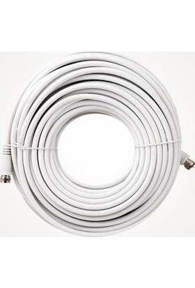 USKEY Rg6-U4 Uydu Kablosu Full Hd F-Konnektörlü (Metraj Seçenekli)