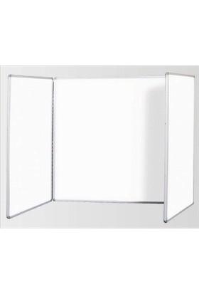 İnterPano Kanatlı Beyaz Yazı Tahtası ( 120*70 120*140 120*70)