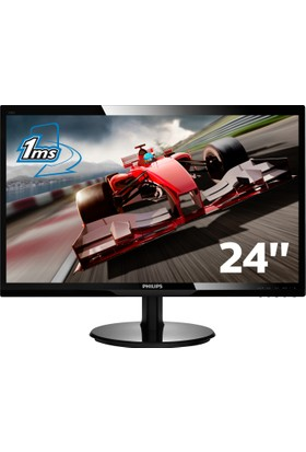 Philips 246V5LDSB/00 24'' 1ms (Analog+DVI-D+HDMI) Full HD Led Monitör