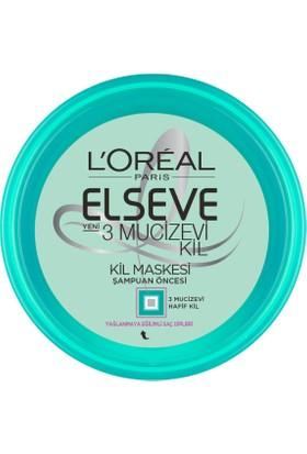 L'Oréal Paris Elseve 3 Mucizevi Kil Maskesi 150 Ml