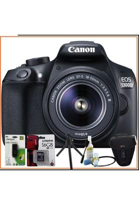 Canon Eos 1300D Dslr Fotoğraf Makinesi 18-55Mm Dc Iıı Lens Kitli