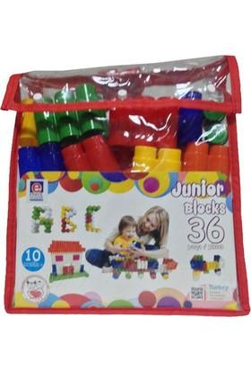 Akallı Oyuncak Junior Block 36 Parça Pvc Canta 01 202