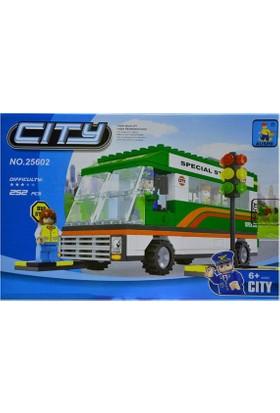 Ausini City Yolcu Uçağı (252 Parça)