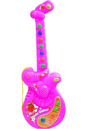 Can Oyuncak Poşette Pilli Sevimli Gitar