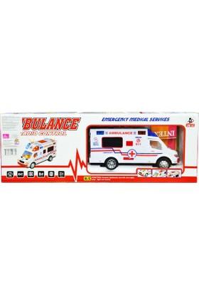 Can-Em Oyuncak Uzaktan Kumandalı Ambulans