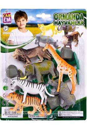 Can-Em Oyuncak 040912 c13 Vahşi Hayvanlar