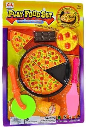 Erkol Oyuncak 6625 - 3 Pizza Seti - KartelA Play Food Set +3 Yaş