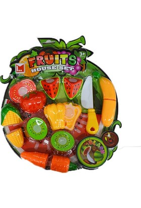 Erkol Oyuncak 681 Meyve Kesme Seti - Vakumlu - Fruit Set