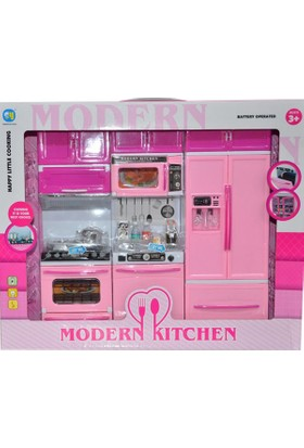 Erkol Oyuncak 818 - 25 - 26 Kutulu Mutfak Modern Mutfak