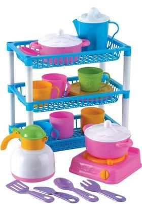 Fen Toys 01035 Üç Katlı Mutfak Sepeti