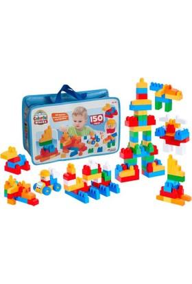 Dede Benim İlk Renkli Bloklarım 150 Parça 3255