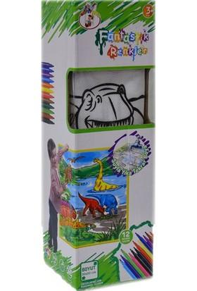 Gepet Toys 333 Boya Yıka Dinazor
