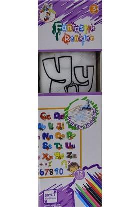 Gepet Toys 336 Boya Yıka Alfabe