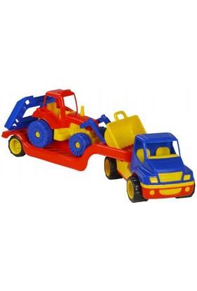 Mgs Oyuncak 0819 Taşıyıcı Kamyon Traktörü