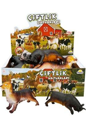 Sunman Çiftlik Hayvanlar Foam Sesli 24 cm Rst Aus 723
