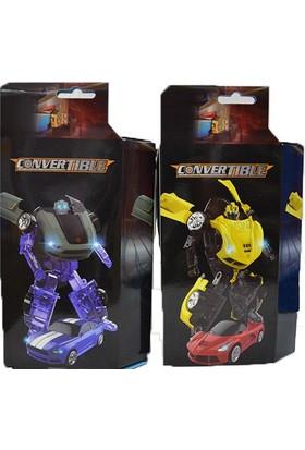 Vardem Oyuncak 1029 - 06 - 1037 Dönüşebilen Robot 7 Asst