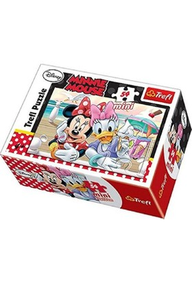 Vardem Oyuncak 54 Pcs Mini Puzzle Minnie Mause 54130