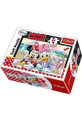 Vardem Oyuncak 54 Pcs Mini Puzzle Minnie Mause 54130