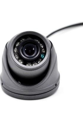 Opax 6502 Ahd 720P 120 Derece 12 Ledli Araç Kamerası Gece Görüşlü