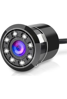 Opax 6400 8 Ir Ledli Tampon Gece Görüşlü Araç Kamerası
