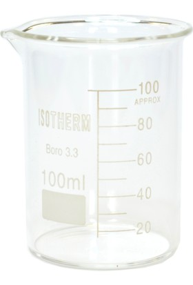 Isotherm Beher Cam Kısa Form 100 Ml