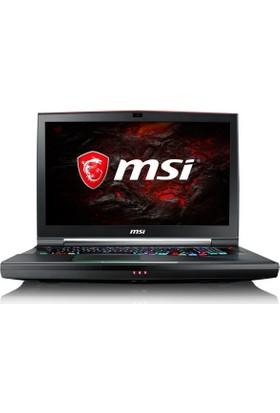 """MSI GT75VR 7RF(Titan Pro)-078TR Intel Core i7 7700HQ 32GB 1TB + 256GB SSD GTX1080 Windows 10 Home 17.3"""" FHD Taşınabilir Bilgisayar"""