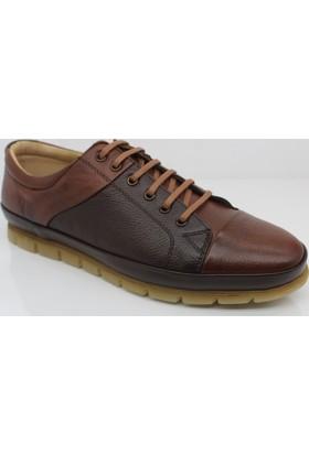 Fancy 303 Deri Günlük Erkek Ortopedik Ayakkabı
