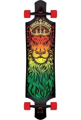 Santa Cruz 40.0 Lion God Drop Thru Cruzer Longboar