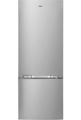 Vestel NFK510 X A+ 510 lt No-Frost Kombi Buzdolabı