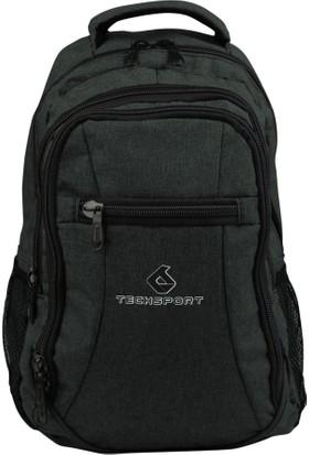 Techsport Antrasit Kot Unisex Sırt Çantası Ts307-020