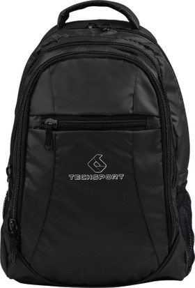 Techsport Siyah Parlak Unisex Sırt Çantası Ts320-001