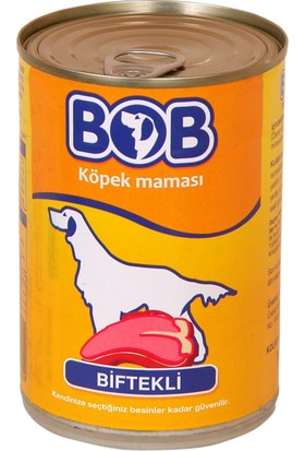 Bob Konserve Köpek Maması 400 Gr