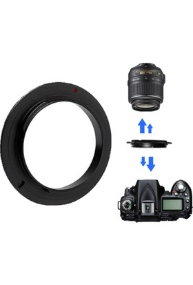 Haskan Nikon 18-55mm Lens İçin 52mm Ters Makro Adaptör