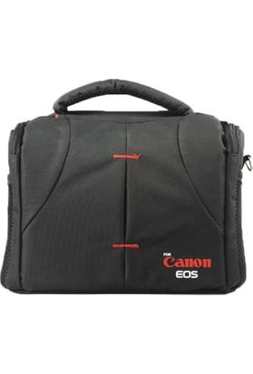Haskan Canon 100D Fotoğraf Makinesi İçin Profesyonel Set Çanta