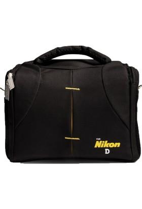 Haskan Nikon D90 Fotoğraf Makinesi İçin Profesyonel Set Çanta
