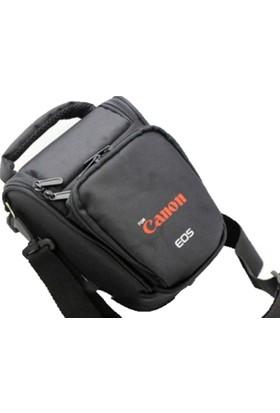 Haskan Canon 1100D Fotoğraf Makinesi İçin Profesyonel Üçgen Çanta