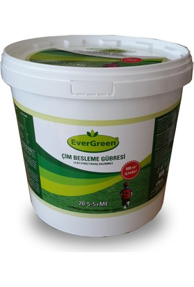 Evergreen Çim Başlangıç Gübresi 10-20-18 10 Kg Kova Gübre