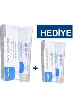 Mustela Vitamin Barrier Cream 1-2-3 100 Ml - 50 Ml Hediye