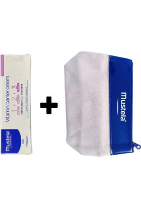 Mustela Vitamin Barrier 1-2-3 100 Ml+ Çanta