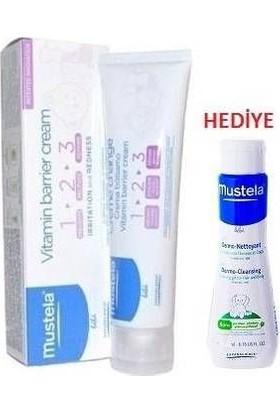 Mustela Vitamin Barrier Cream 50 Ml Dermo Cleansing 50 Ml Hediyemustelali