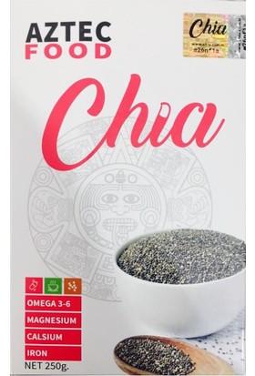 Aztec Food Chia Tohumu 250 G Aztek Çiya Tohumu 10 Günlük Kullanım