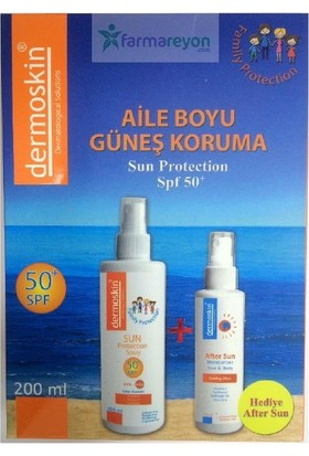 Dermoskin Sun Protection Spf 50 Aile Paketi