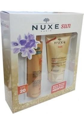 Nuxe Sun Spray Lacte Spf 20 150 Ml Hediye After Sun 100 Ml Güneş Losyonu