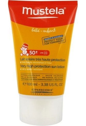 Mustela Very High Sun Protection Sun Lotion Spf 50 + 100 Ml
