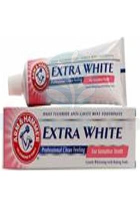 Arm Hammer Extra White For Sensitive Teeth Hassas Dişler İçin Çürük Önleyici Diş Macunu 125 Ml