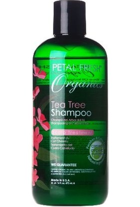 Petal Fresh Organics Tea Tree Şampuan 475 Ml